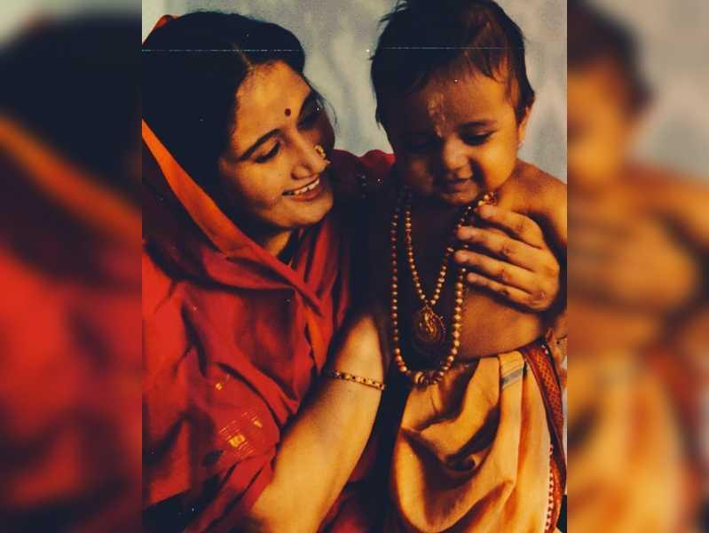 Pavan Wadeyar dresses his kid as Sri Rama for Sri Rama Navami