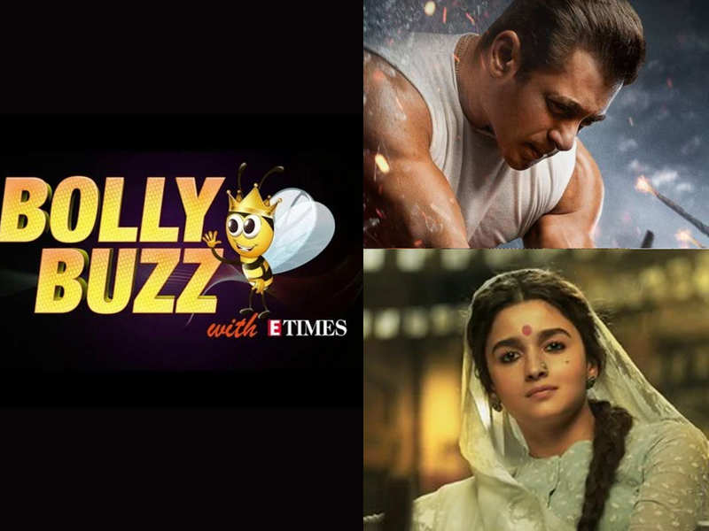 Bolly Buzz: Salman Khan announces 'Radhe' release date, Ranveer and Alia's vanity vans being lent out to Police on covid--duty