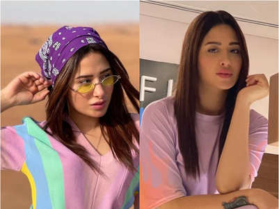 Mahira plays it up with cool summer colours