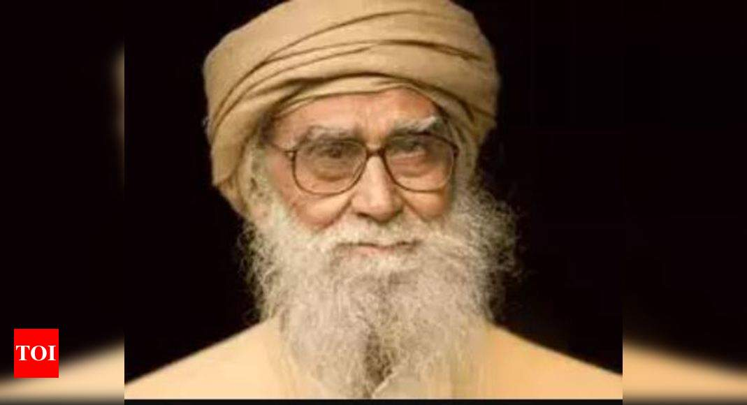 Famed Islamic scholar Maulana Wahiduddin dead