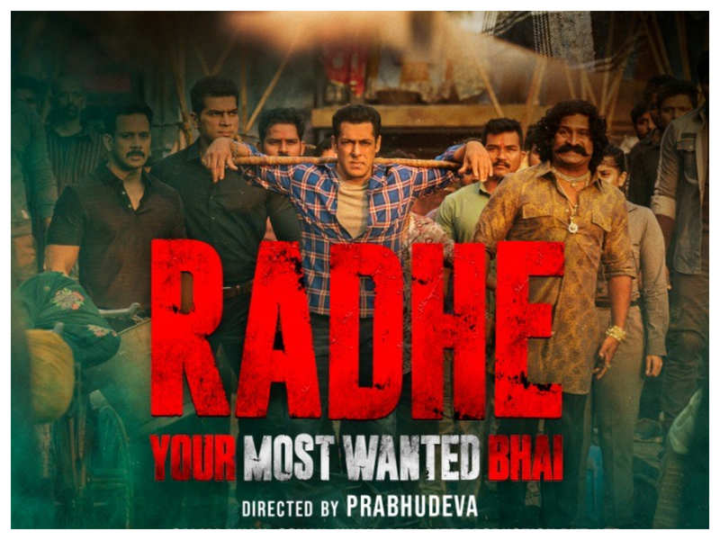 Salman Khan's 'Radhe' Movie Poster: 'Radhe: Your Most Wanted Bhai': Ahead of its trailer release, the makers unveil a new poster of the Salman Khan starrer