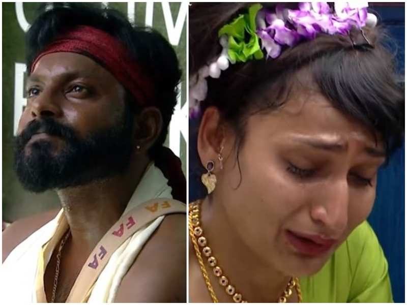 Bigg Boss Malayalam 3: Kidilam Firoz accuses Dimpal of gaining sympathy with her illness; the latter bursts into tears