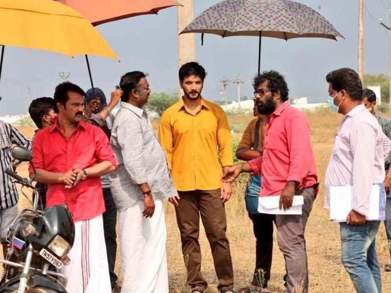 Gautham Karthik's 'Anantham Vilayaadum Veedu' second schedule begins in Dindigul