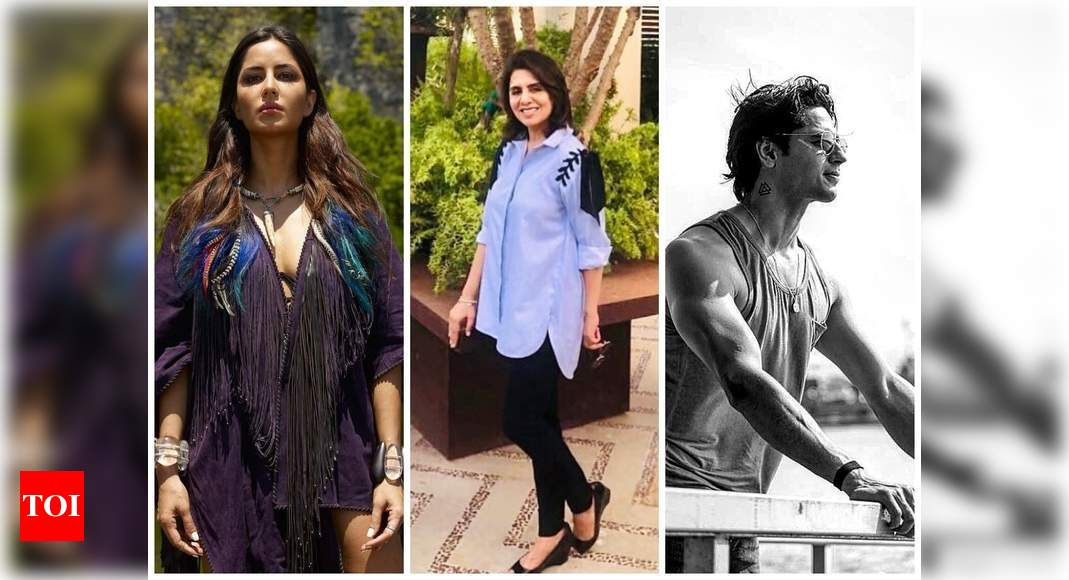 World Earth Day 2021: Katrina Kaif, Neetu Kapoor and Sidharth Malhotra, B-Town stars show love to mother nature – Times of India