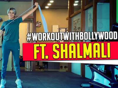 Shalmali offers a glimpse of her workout