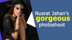 Nusrat Jahan's gorgeous photoshoot