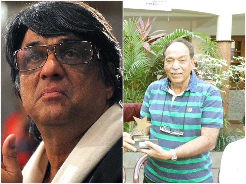Mukesh Khanna and his brother Satish Khanna