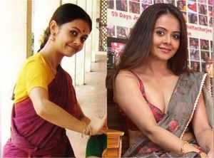 Devoleena's transformation from college days
