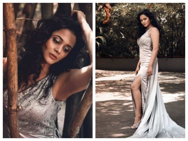 Deepti Devi looks drop-dead gorgeous as she stuns in a silver gown; see pics