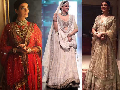 Check out Sushmita's wedding-ready lehengas