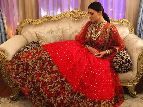 Sushmita Sen's wedding-ready lehengas are perfect picks for a glamorous affair   The Times of India