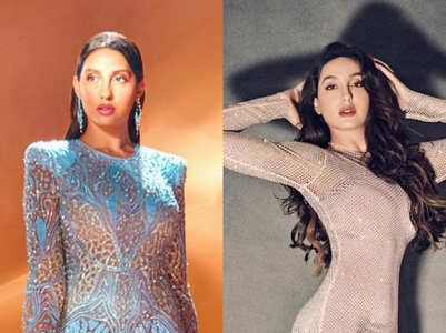 Nora Fatehi and her statuesque dresses