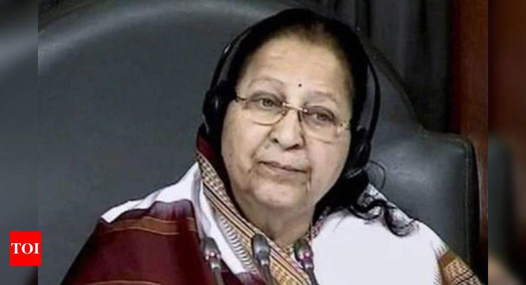 Fake news of Sumitra Mahajan's death goes viral