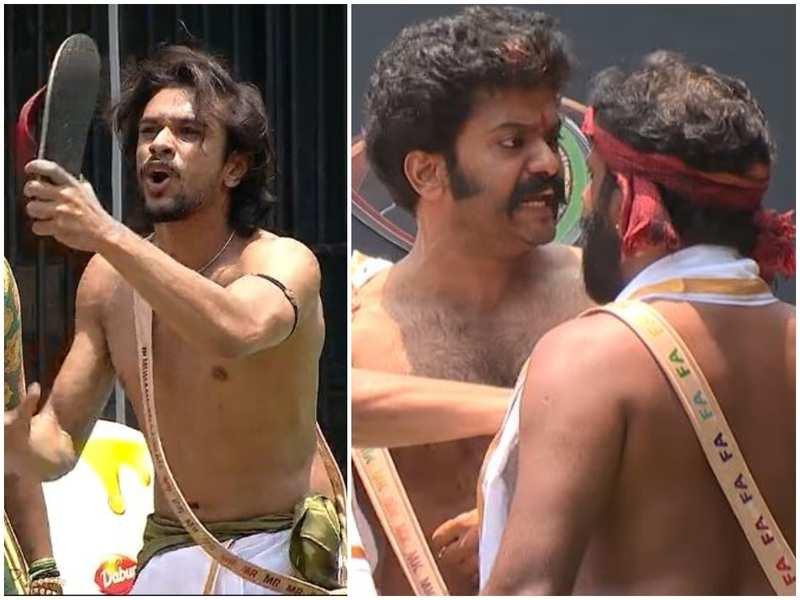 Bigg Boss Malayalam 3: Weekly task turns violent; Ramzan throws chappal on Sai Vishnu