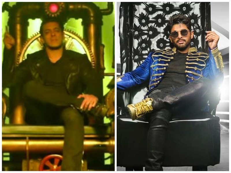Netizens accuse Salman Khan of 'stealing' Allu Arjun's Seeti Maar in Radhe trailer