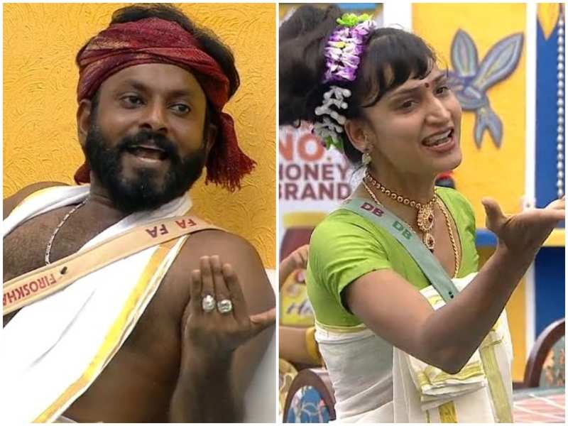 """Bigg Boss Malayalam 3: Kidilam Firoz comments on Dimpal's physical condition yet again; says, """"you are using an old scar to create sympathy, continue it"""""""
