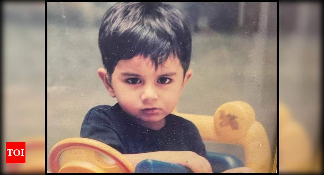 Saba shares a childhood picture of Ibrahim