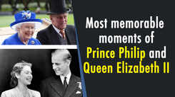 Most memorable moments of Prince Philip and Queen Elizabeth II