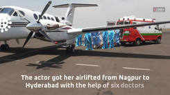 Sonu Sood airlifts a critical Covid-19 patient from Nagpur to Hyderabad