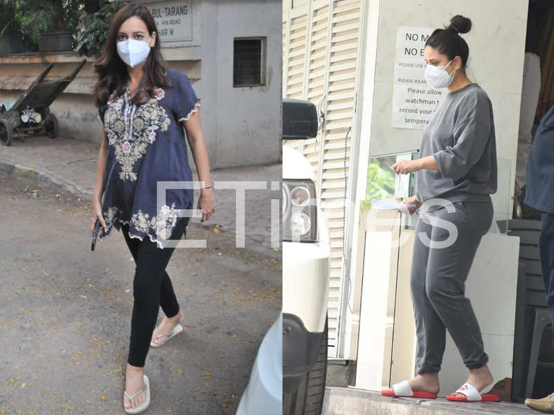 ETimes Paparazzi Diaries: Saif Ali Khan-Kareena Kapoor Khan spotted in Bandra; mom-to-be Dia Mirza steps out for a clinic visit