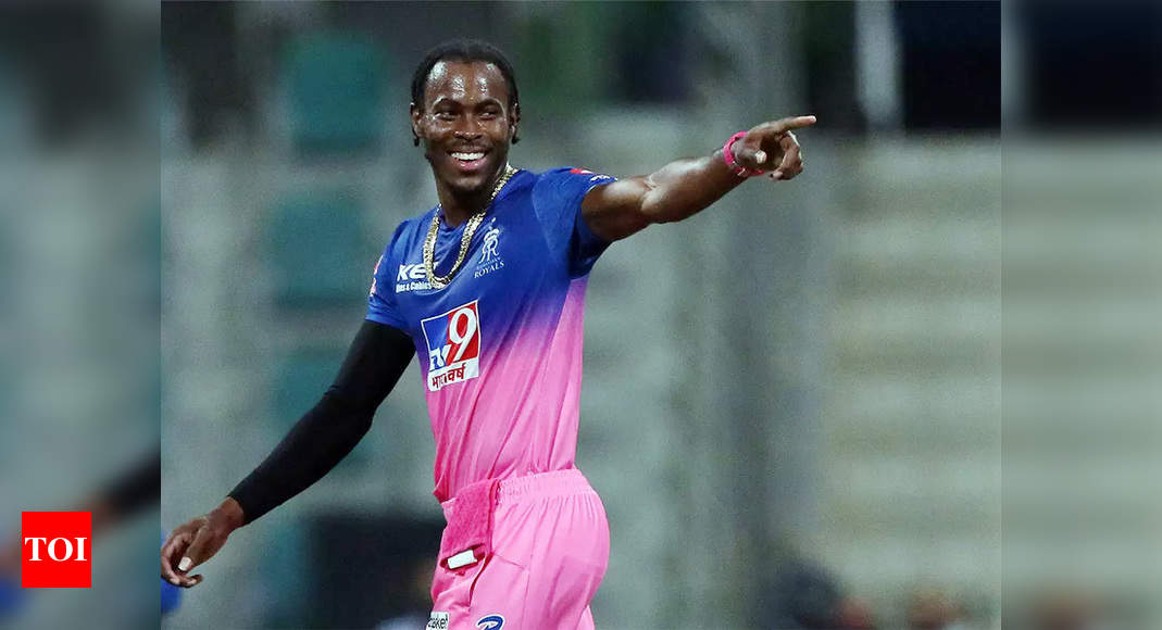 Bad news for Rajasthan Royals as ECB rules Jofra Archer out of IPL | Cricket News – Times of India