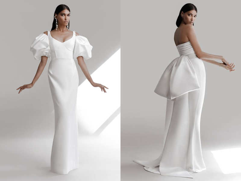 Prabal Gurung's first-ever bridal collection is visually arresting