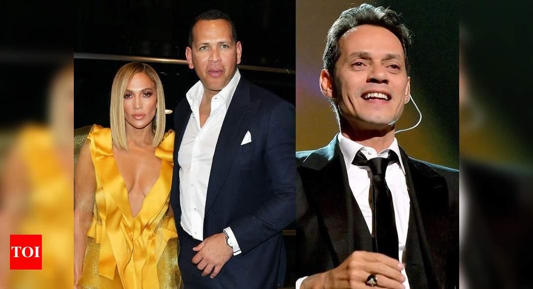 Jennifer Lopez leans on ex-husband Marc Anthony amid Alex Rodriguez split: Report – Times of India