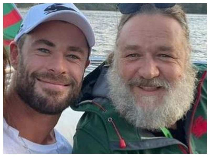 Pic: Russell Crowe Instagram