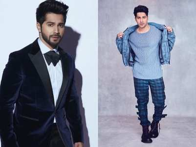 A glimpse of Varun Dhawan's style file