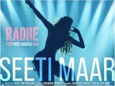 Radhe: 'Seeti Maar' to release on THIS day