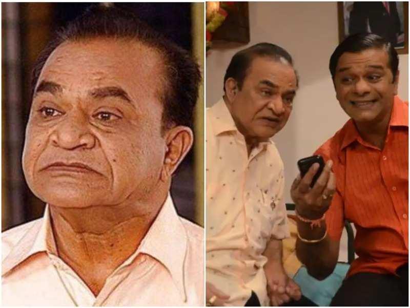 Ghanshyam Nayak aka Natukaka with Tanmay Vekaria in the show Taarak Mehta Ka Ooltah Chashmah