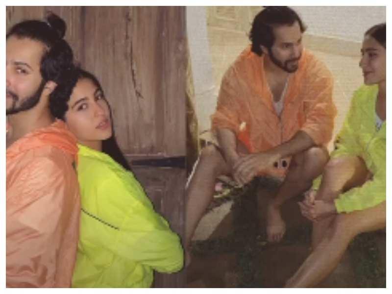 Sara Ali Khan shares an adorable throwback picture to wish Varun Dhawan on his birthday
