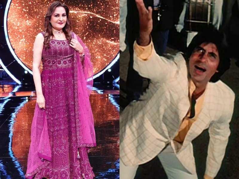 Indian Idol 12: Jaya Prada reveals how Amitabh Bachchan hid his burnt hand during the shoot of De De Pyaar De