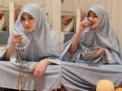 Gauahar's feelings on increasing Iftar time