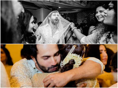Sonam shares unseen pic from Varun's wedding