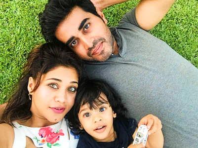 Amrapali Gupta spends time with son Kabir