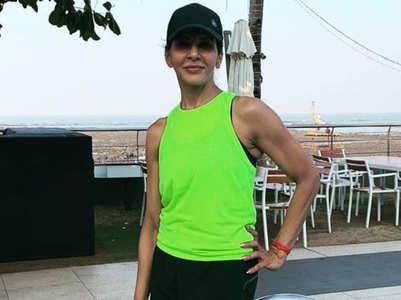 Anita Raaj's fit and fabulous look at 58