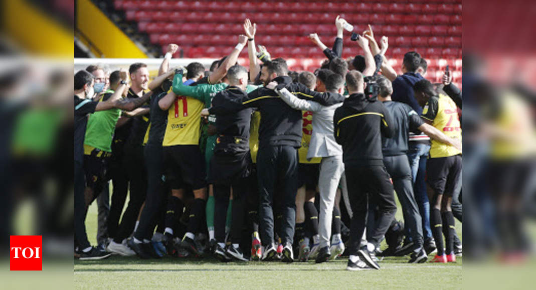Watford seal Premier League promotion with victory over Millwall | Football News – Times of India