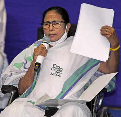 EC observers ordered the arrest of TMC workers the night before the voting exercise: Mamata Banerjee | India News
