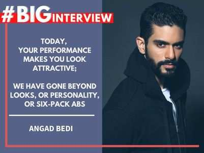 #BigInterview! Angad Bedi on his journey