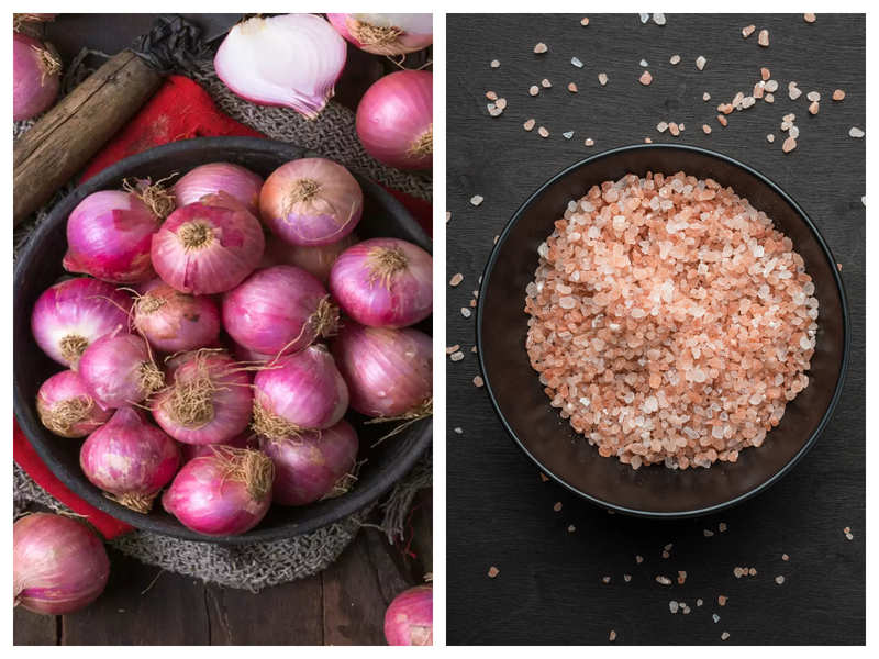 Eating raw onion with rock salt can cure COVID-19? Here's the truth