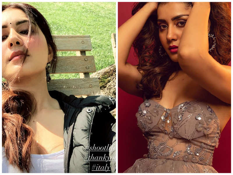 Raashi Khanna shares a sun-kissed selfie from the sets of Thank You in Italy
