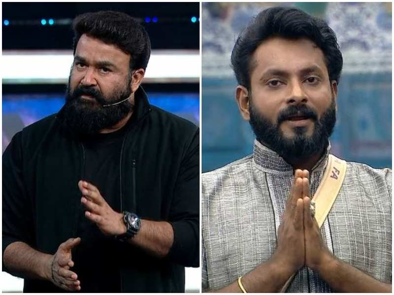 Bigg Boss Malayalam 3: Host Mohanlal lashes out at Kidilam Firoz for his comment on Dimpal's physical condition