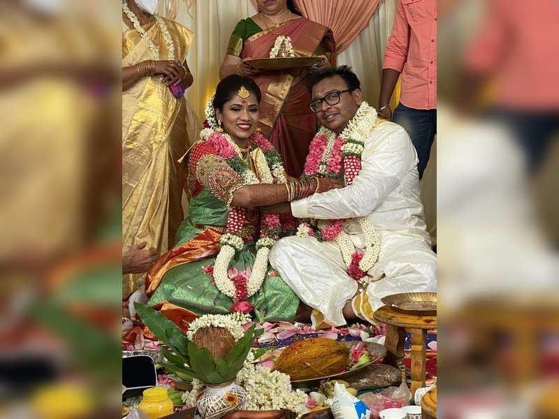 Mersal DOP GK Vishnu ties the knot