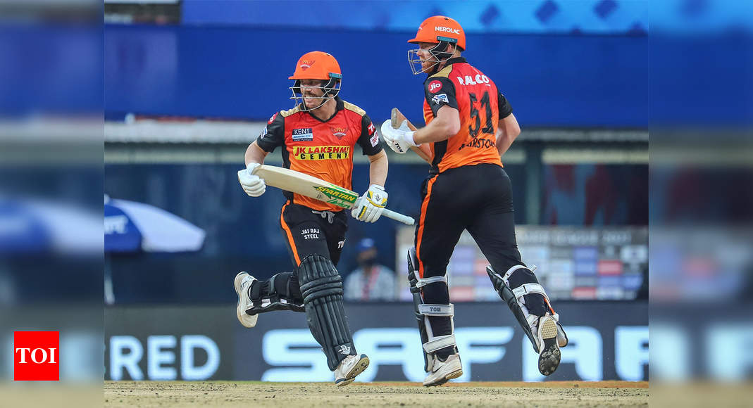 Sunrisers Hyderabad: IPL 2021: VVS Laxman 'disappointed' with nature of tracks in Chennai   Cricket News – Times of India