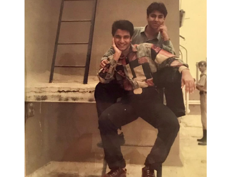 Vinay Anand reveals he used to stole shirt from uncle Govinda's cupboard; shares a throwback photo