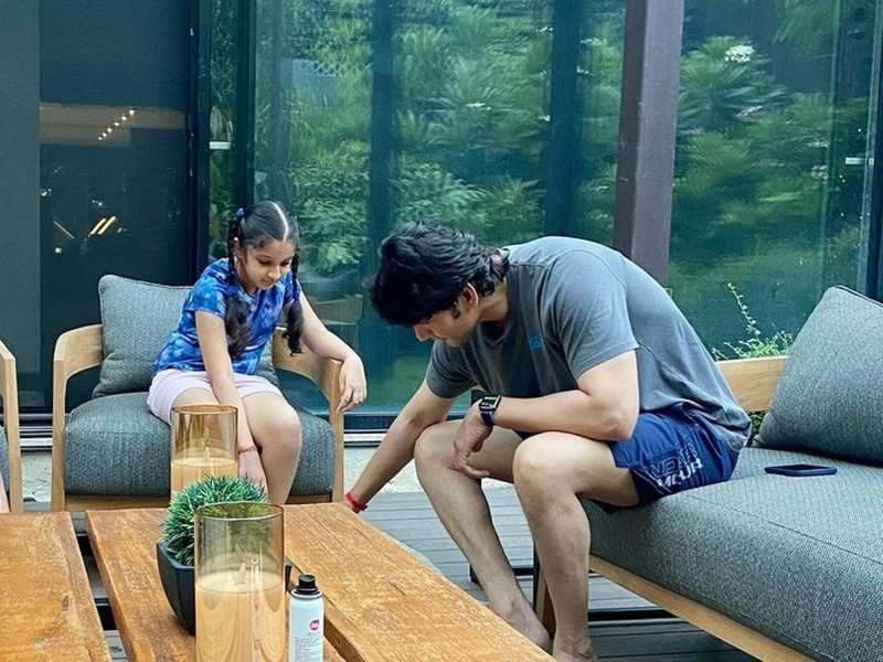 Mahesh Babu spends the weekend with his family