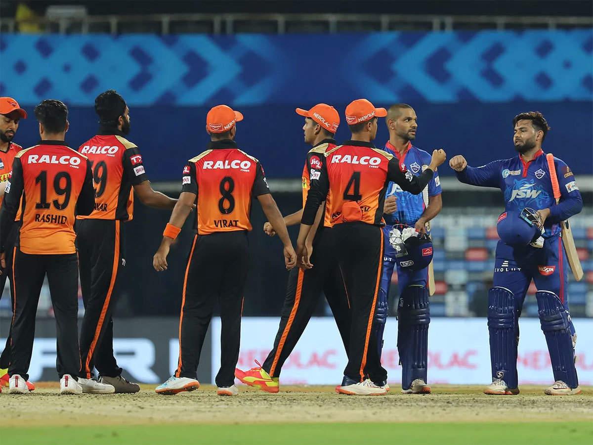 SRH vs DC Highlights, IPL 2021: Delhi Capitals beat Sunrisers Hyderabad via  a Super Over - The Times of India : Match report - IPL 2021: Sunrisers  Hyderabad sink to Super Over defeat against Delhi Capitals