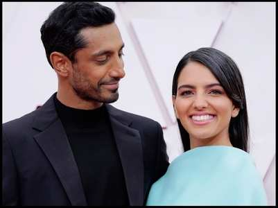 Riz Ahmed attends Oscars with wife Fatima