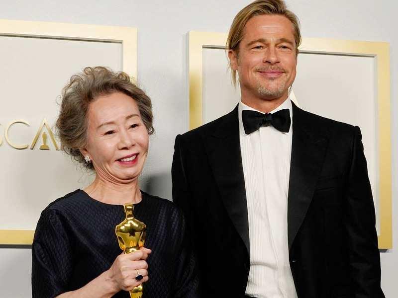 Oscars 2021: Yuh-Jung Youn's acceptance speech mentioning Brad Pitt has left Twitterati impressed!